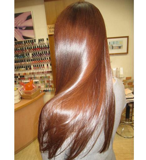 Маска для волос с желтком и репейным