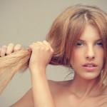 Маска от сечения волос