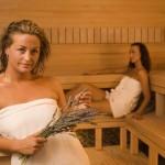 Маска для волос в бане